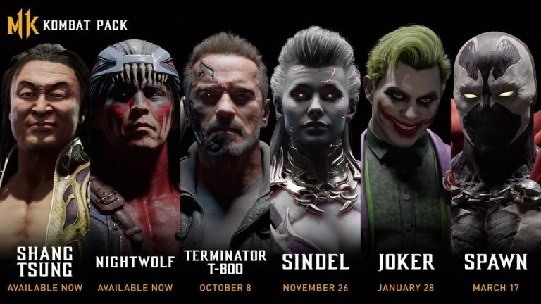 لیست شخصیتهای محتویات اضافهی Kombat Pack برای بازی Mortal Kombat 11 لو رفت   اضافه شدن جوکرو ترمیناتور