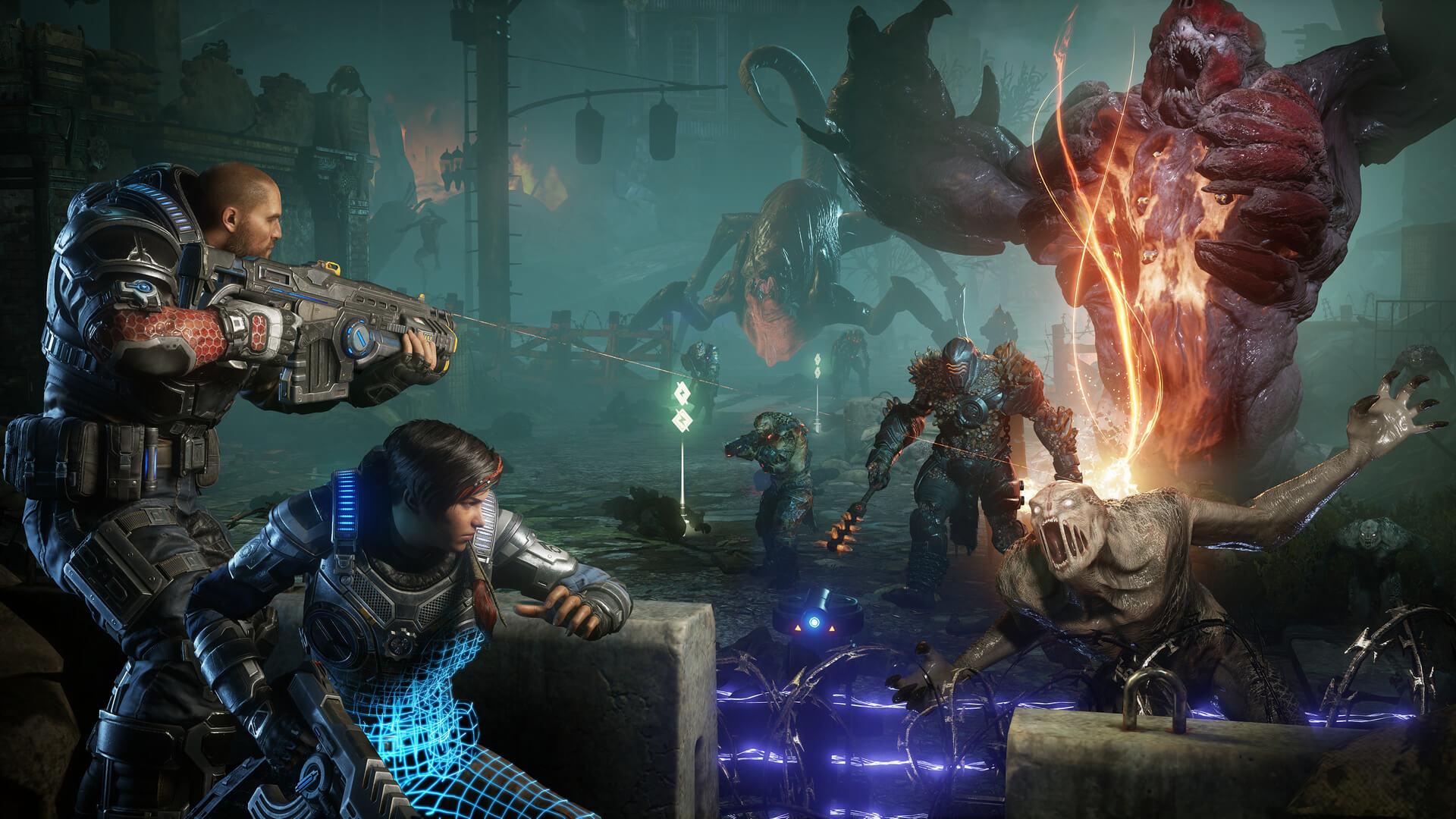 مبارزات Gears 5 از بازی Bioshock: Infinite الهام گرفته شده است