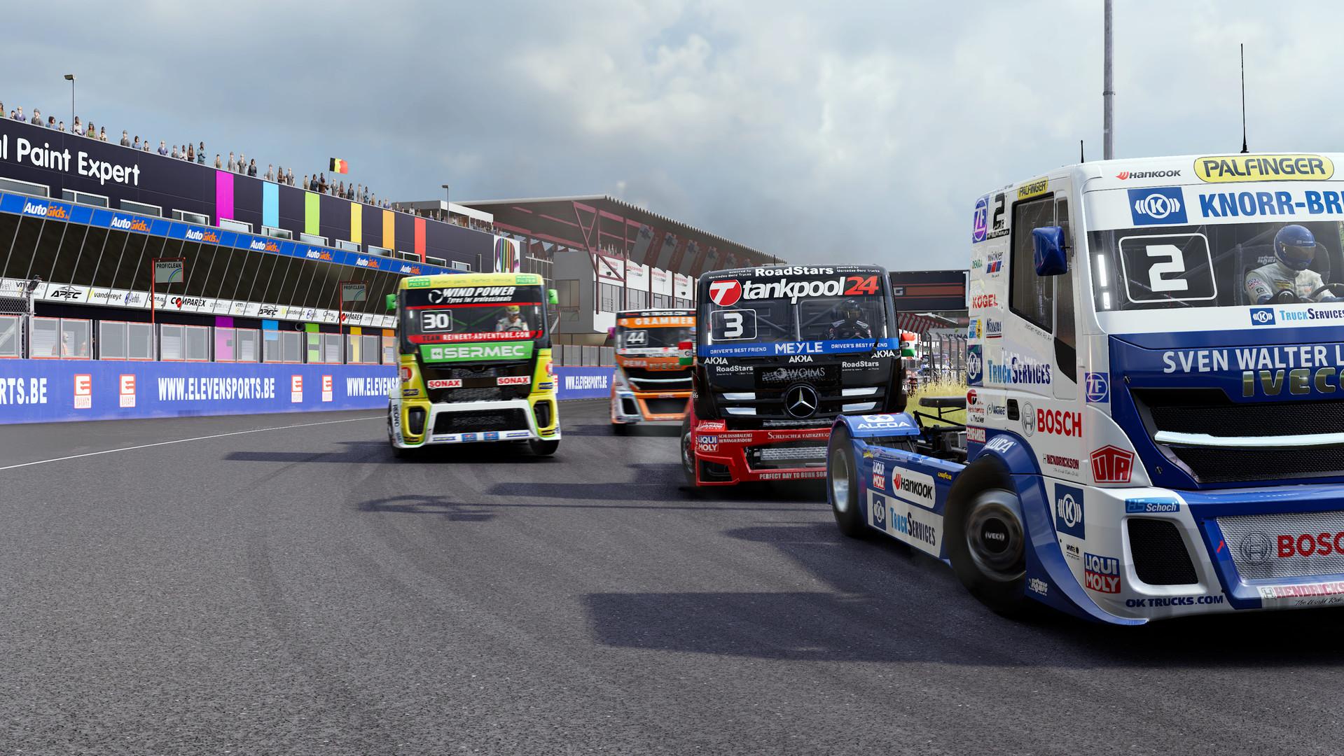 مسابقه به سبک کامیونها | نقدها و نمرات Truck Racing Championship
