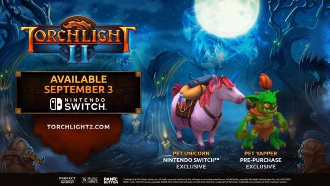 Nintendo Indie Direct | حیوانی انحصاری در بازی Torchlight 2 برای کنسول نینتندو سوئیچ معرفی شد