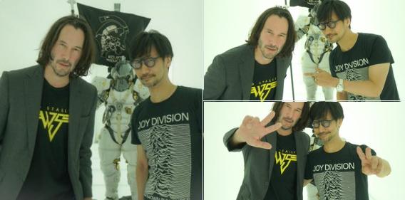 کوجیما در حال آماده شدن برای توسعهی پروژهی بعدی خود با حضور کیانو ریوز است
