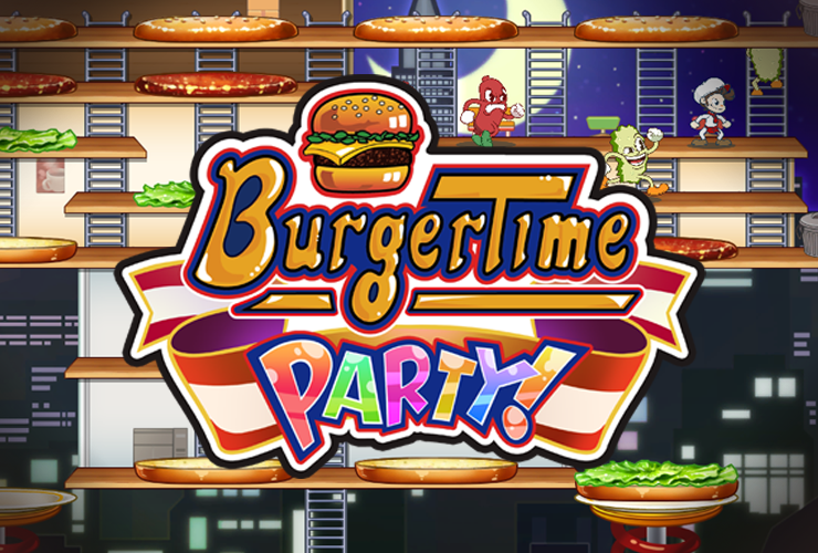 TGS 2019 | تاریخ انتشار نسخهی غربی بازی BurgerTime Party مشخص شد