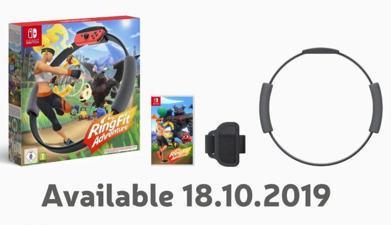 ابتکار جدید نینتندو | ۱۸ اکتبر منتظر RingFit Adventure باشید