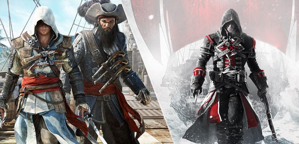 شایعه: عرضهی دو بازی Rogue و Black Flag از مجموعهی Assassins Creed برروی سوییچ