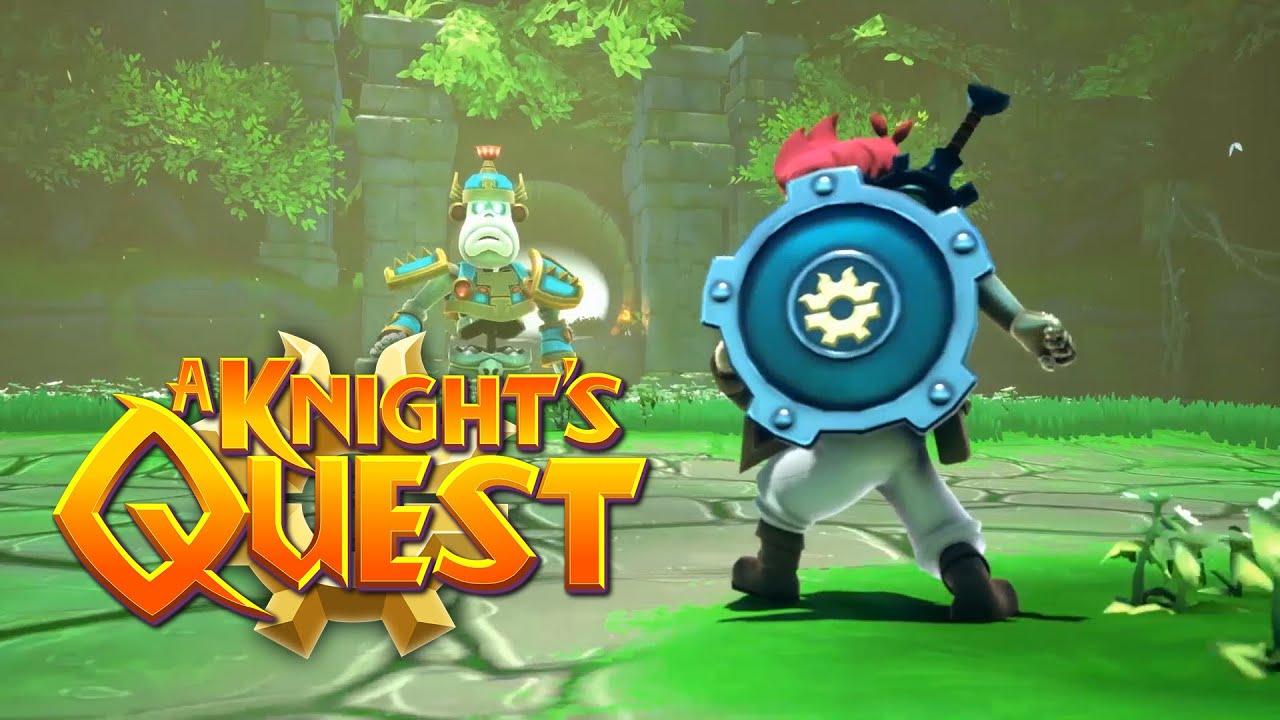 بازی A Knight's Quest الهام گرفته از سری The Legend of Zelda معرفی شد + تریلر