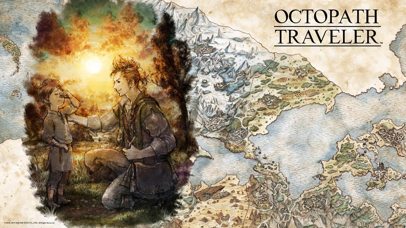 Octopath Traveler Alfyn