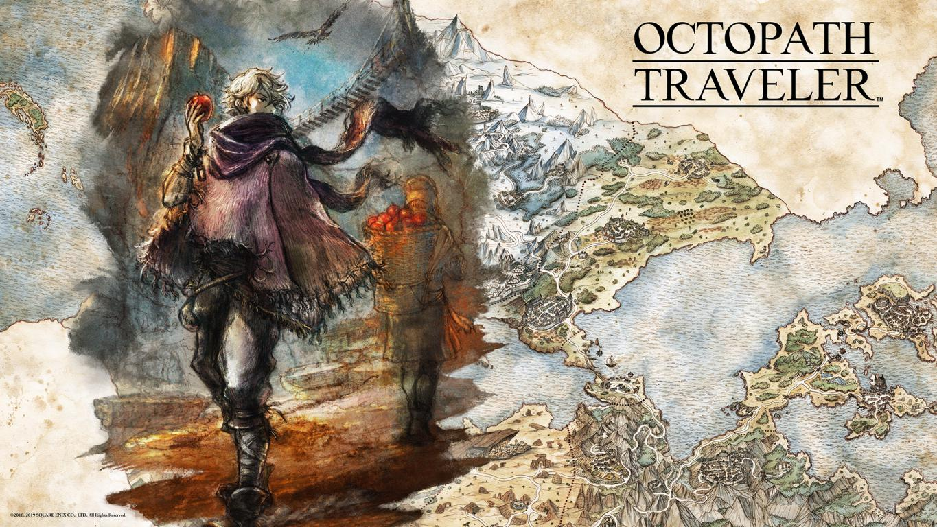 Octopath Traveler Therion