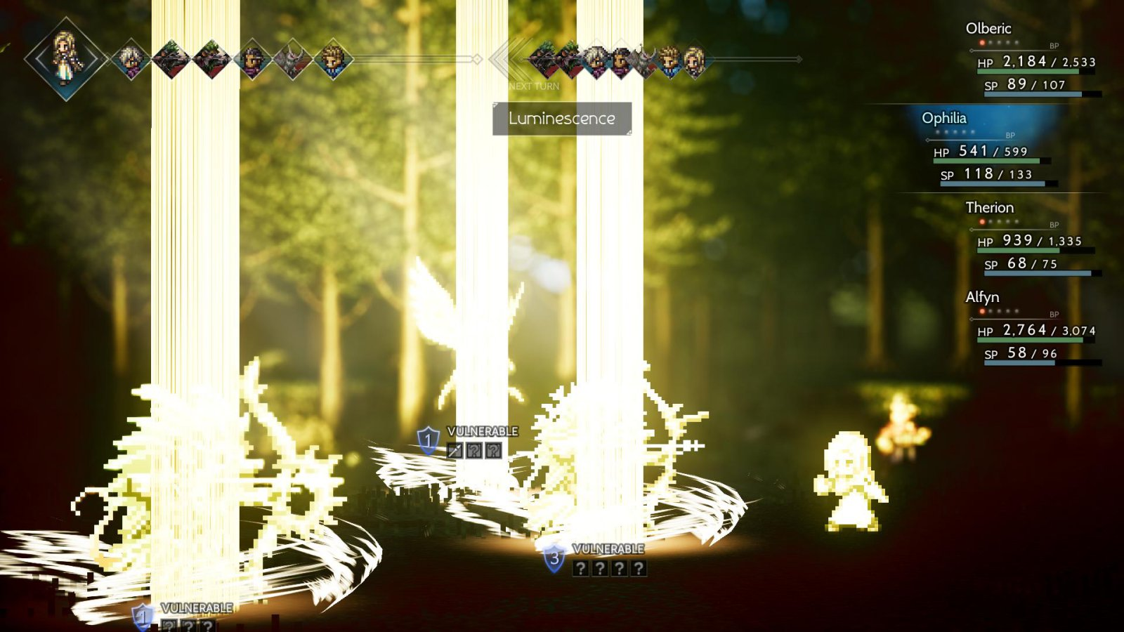 Octopath Traveler Visual Effects