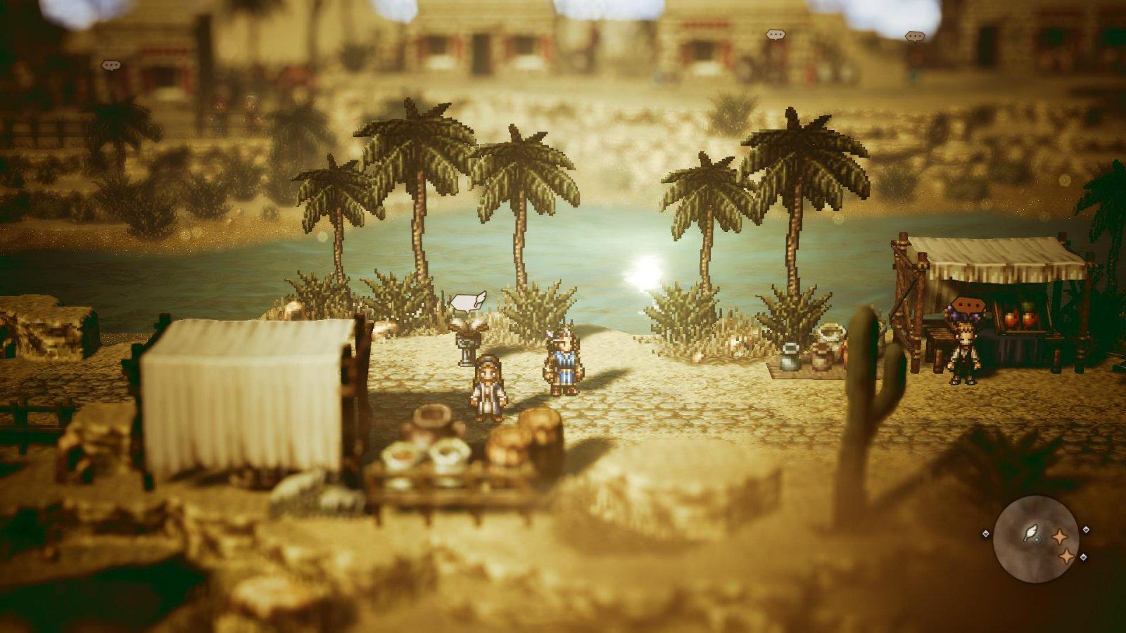 Octopath Traveler Oasis