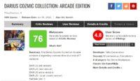 نقدها و نمرات بازی Darius Cozmic Collection Arcade Edition 5