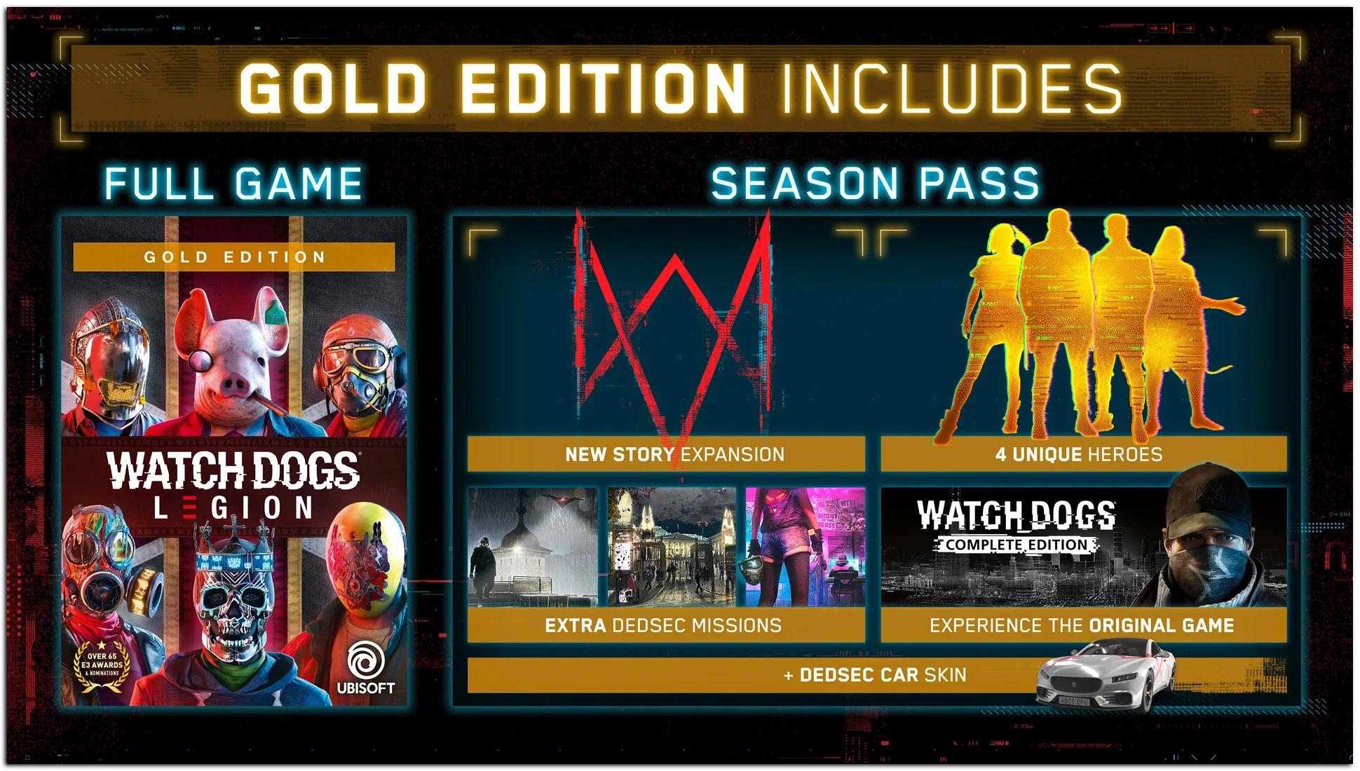 سیزن پس بازی Watch Dogs: Legion شامل اولین نسخه از این فرنچایز خواهد بود 5