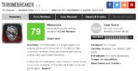 نقدها و نمرات نسخهی iOS بازی Thronebreaker: The Witcher Tales 7