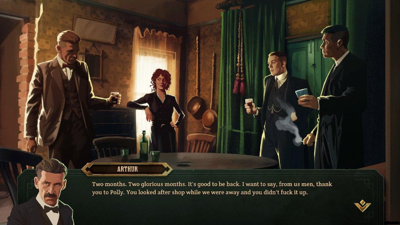 نقد و بررسی بازی Peaky Blinders: Mastermind 5