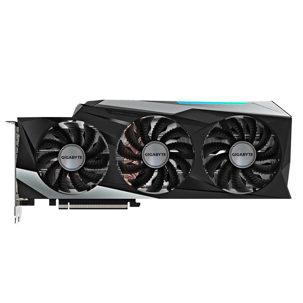GIGABYTE GeForce RTX3080 Gaming OC Frontal View - فنهای کارت گرافیک RTX 3080 گیگابایت