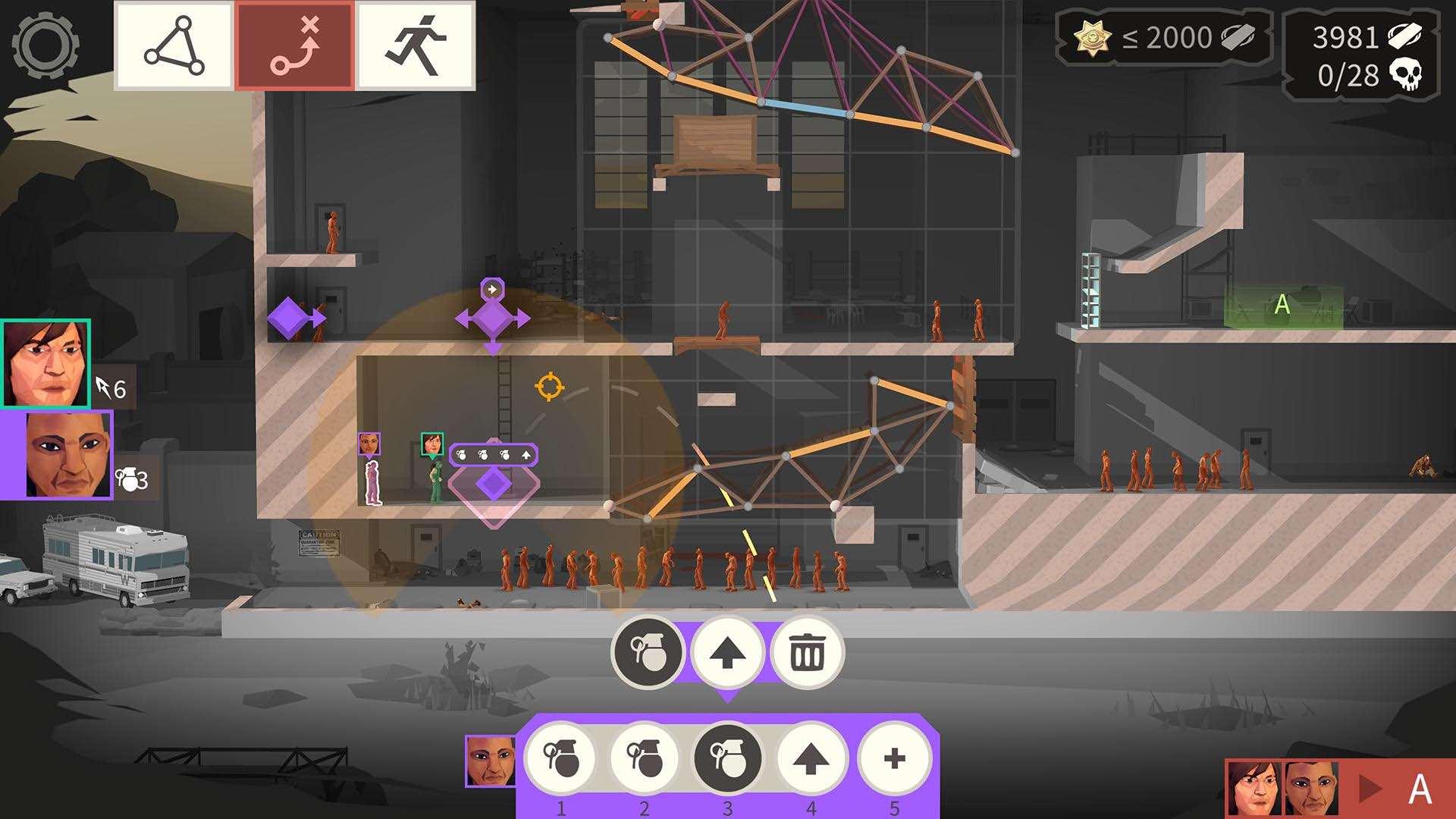 بازی Bridge Constructor