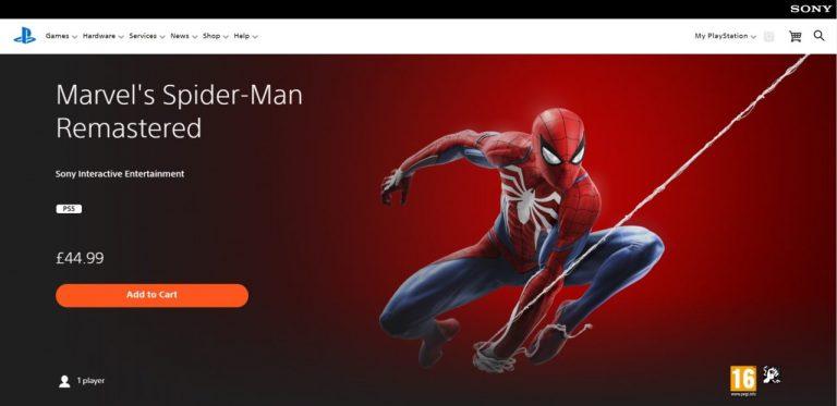 بازی Marvel's Spider-Man Remastered