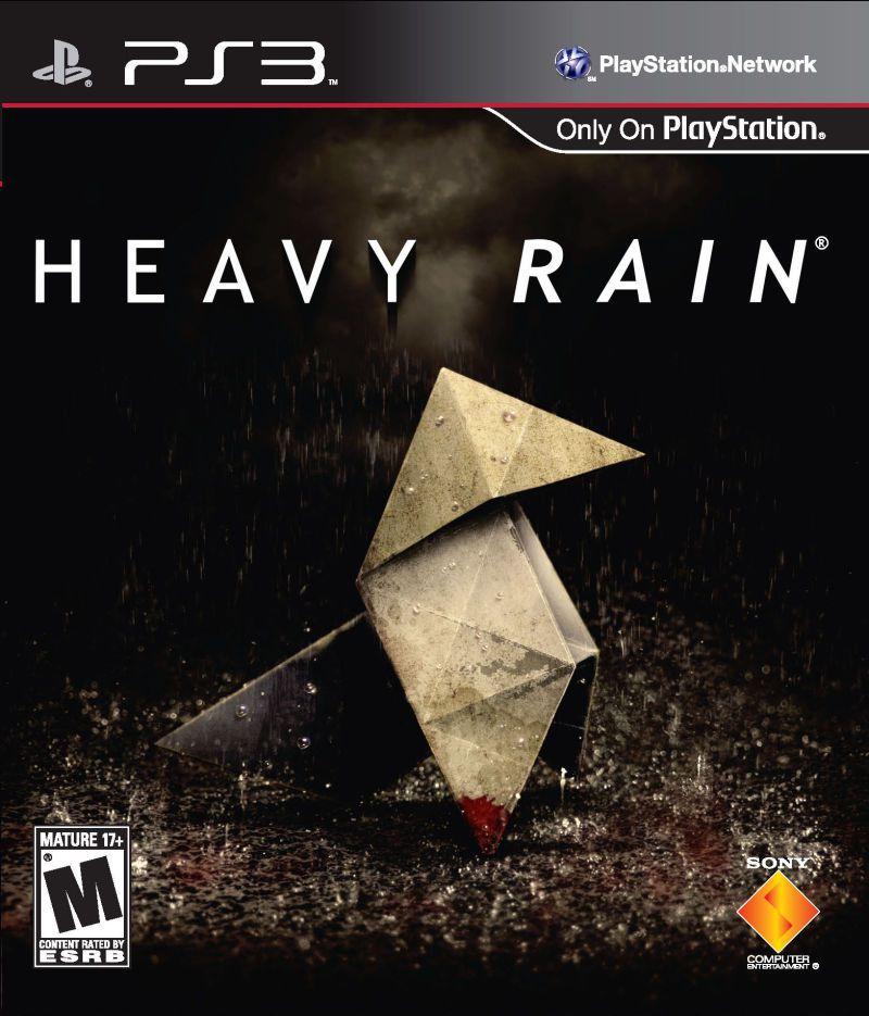 تصویر روی جلد بازی Heavy Rain