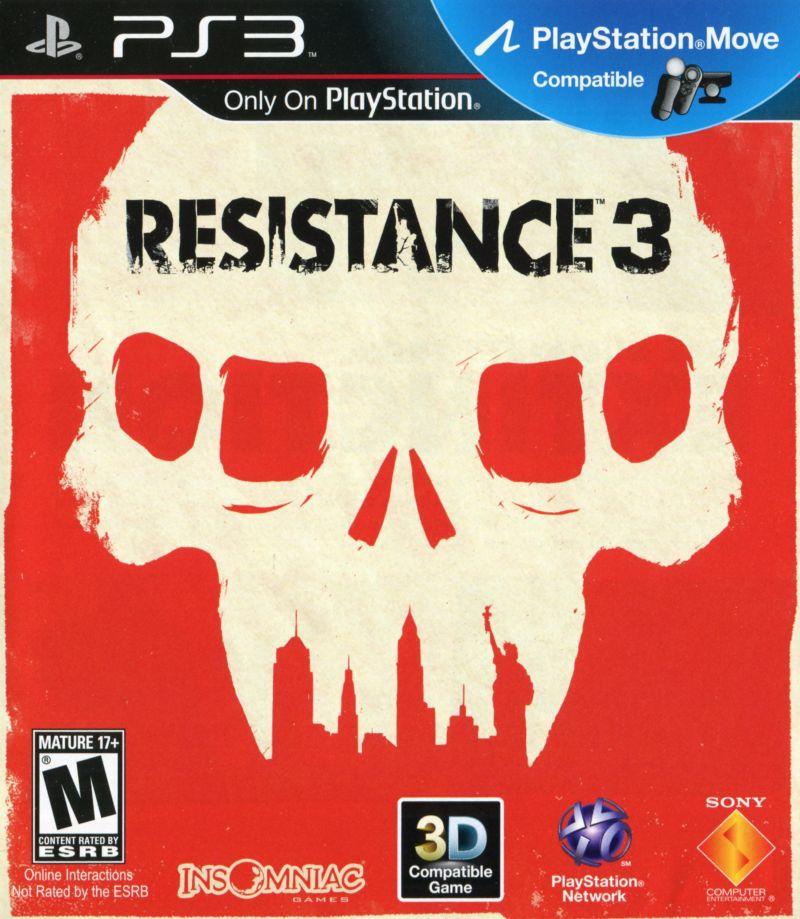 تصویر روی جلد بازی Resistance