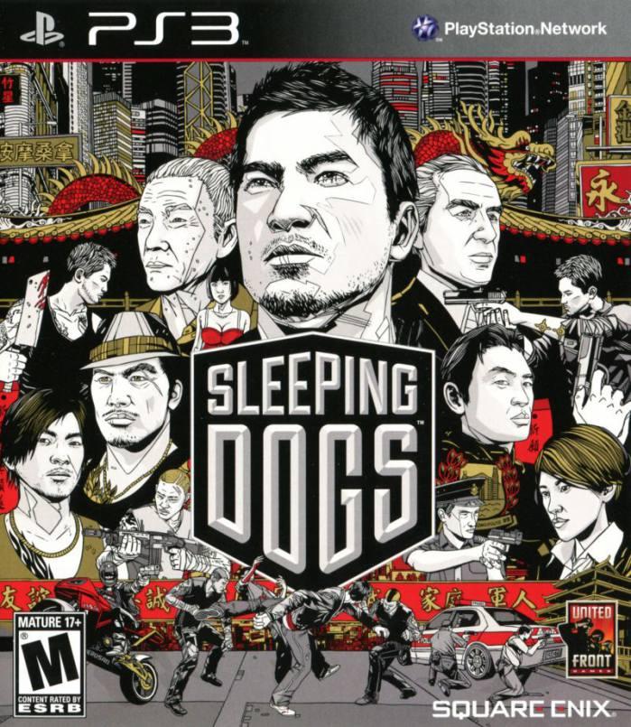 تصویر روی جلد بازی Sleeping Dogs
