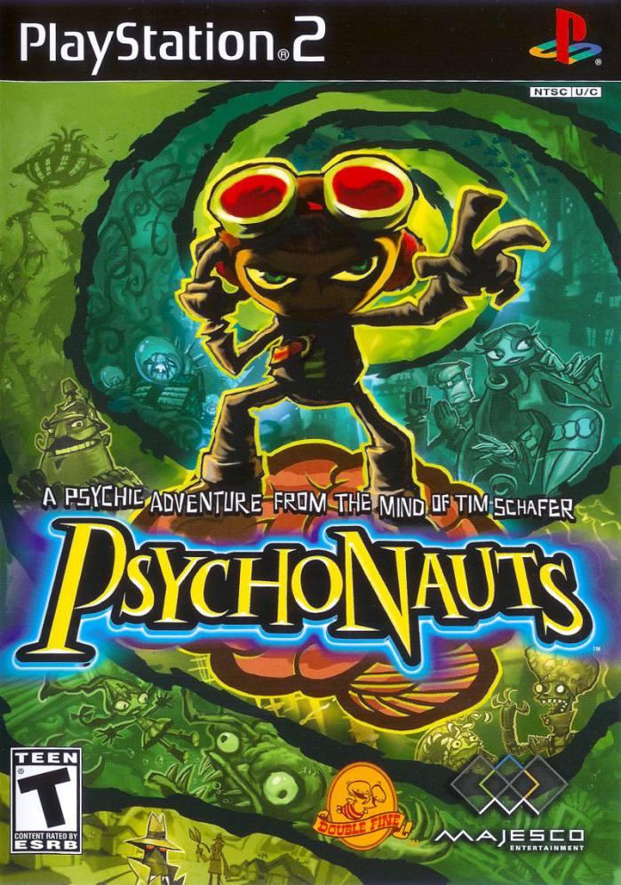 تصویر روی جلد بازی Psychonauts