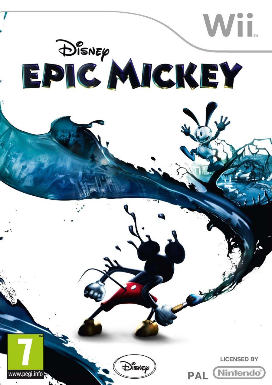 تصویر روی جلد بازی Epic Mickey