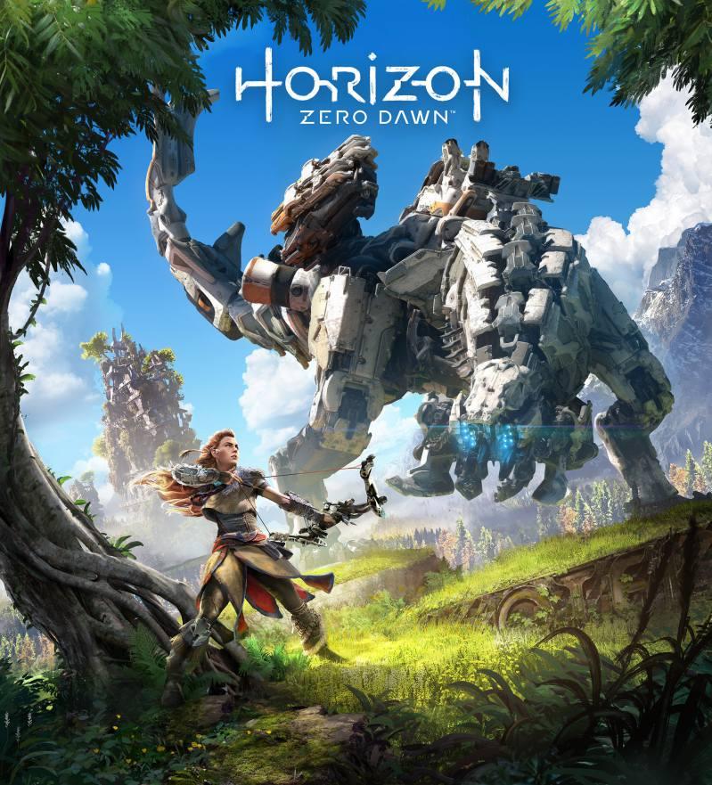 تصویر روی جلد بازی Horizon Zero Dawn
