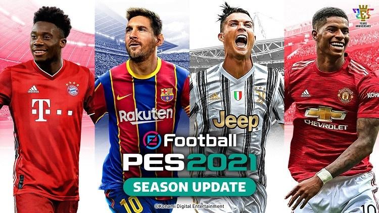 کاور بازی eFootball PES 2021