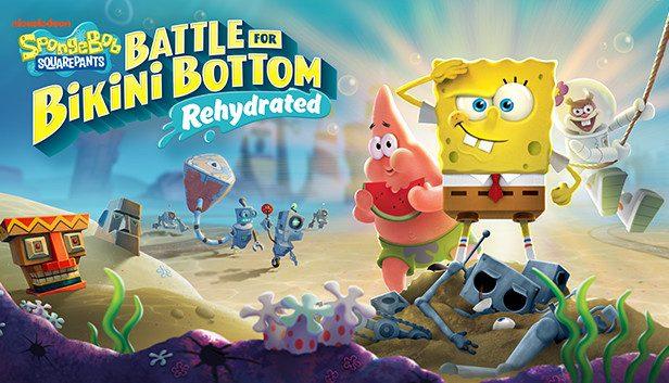 کاور بازی SpongeBob SquarePants: Battle for Bikini Bottom