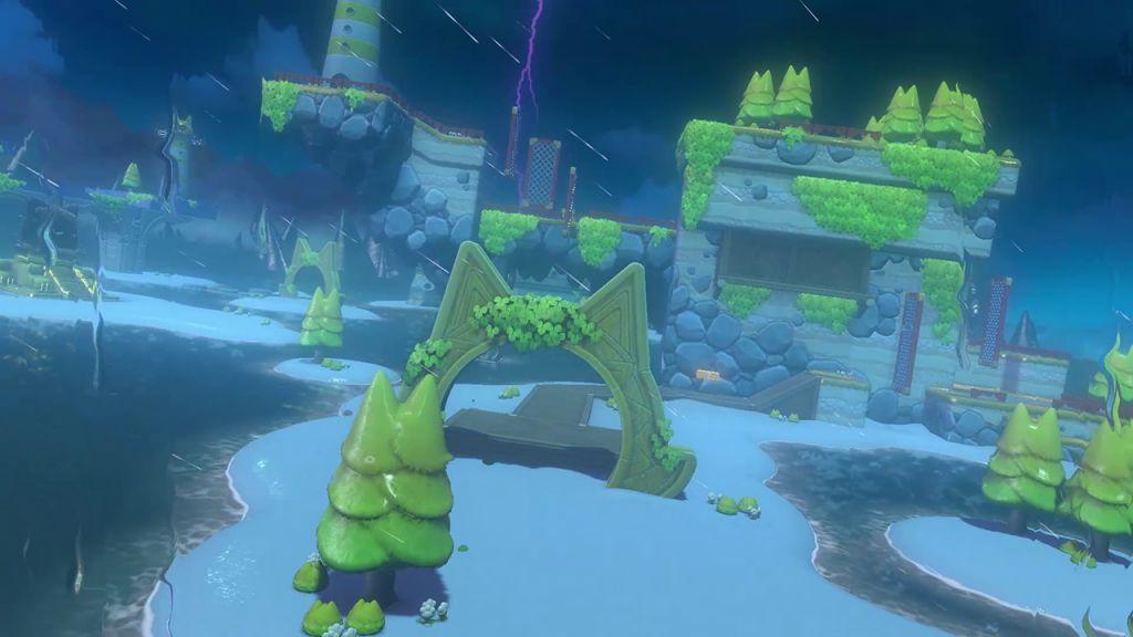 Super Mario 3D World + Bowser's Fury - تم گربهای در Bowser's Fury