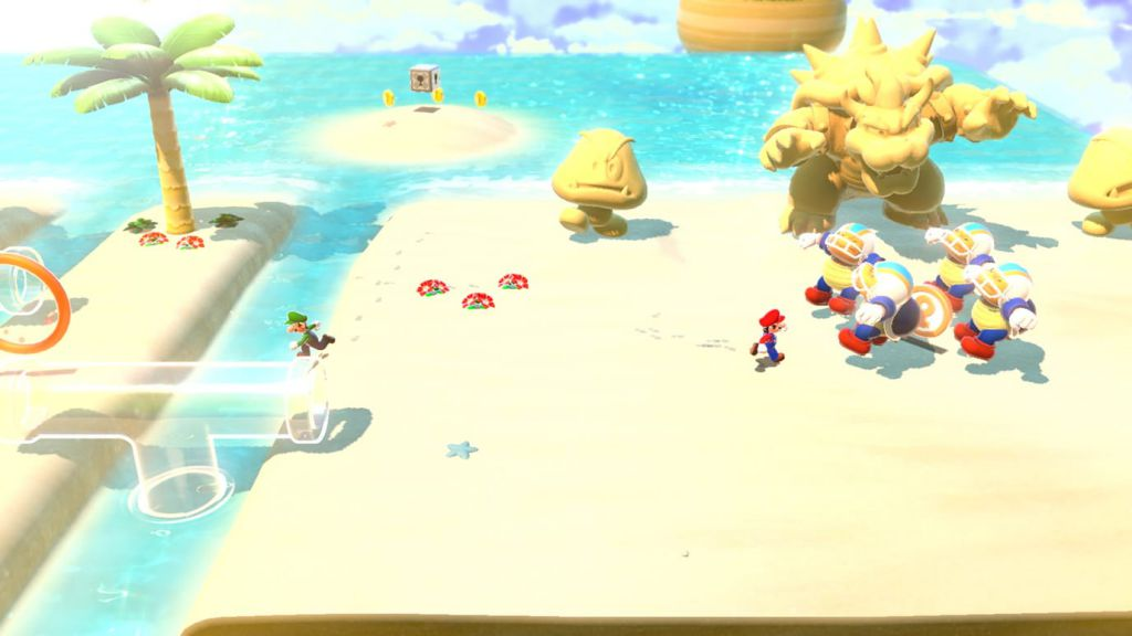 Super Mario 3D World + Bowser's Fury تنوع محیطها