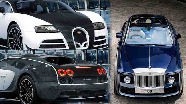 زیباترین خودروها