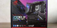 بررسی تخصصی مادربرد گیمینگ ROG STRIX Z590 – E Gaming WiFi ایسوس – قسمت دوم