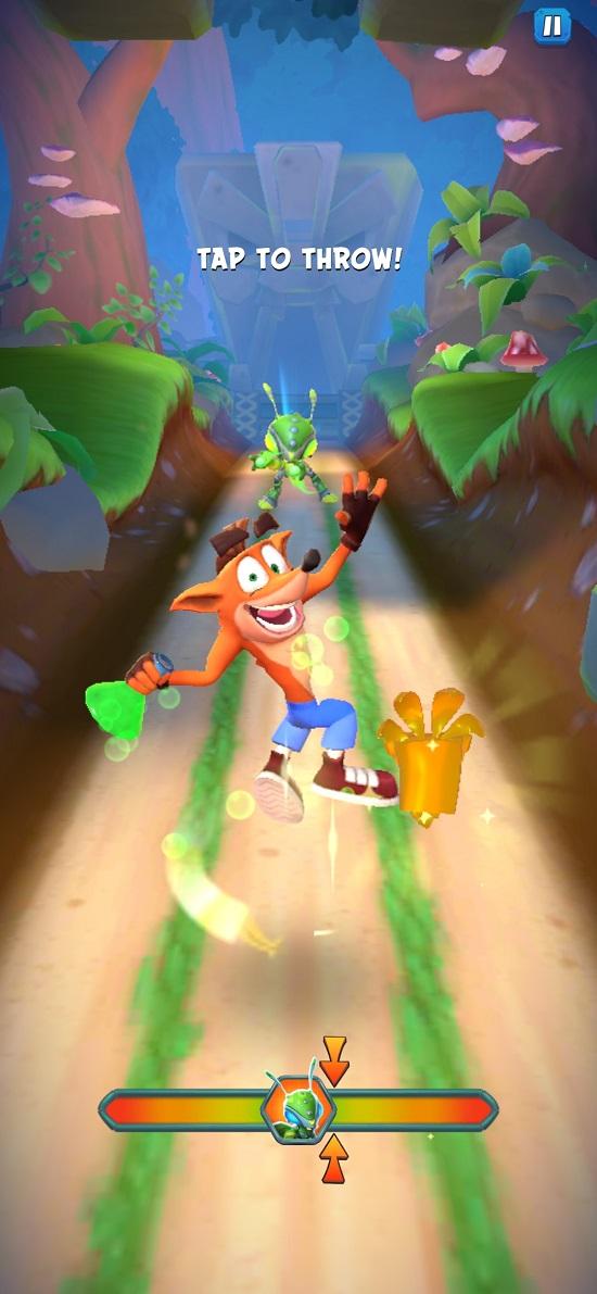 Crash Bandicoot On the Run