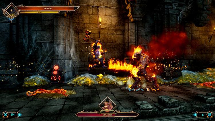 بازی Demon Skin