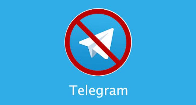 فیلترینگ در ایران - تلگرام