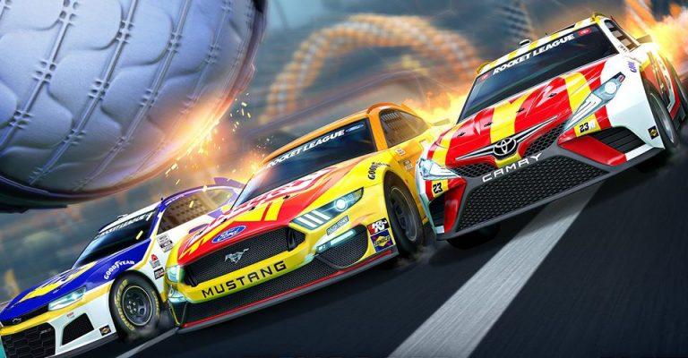 Rocket League NASCAR DLC