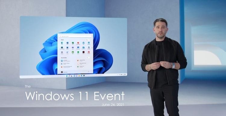 دانلود رویداد معرفی ویندوز ۱۱ مایکروسافت