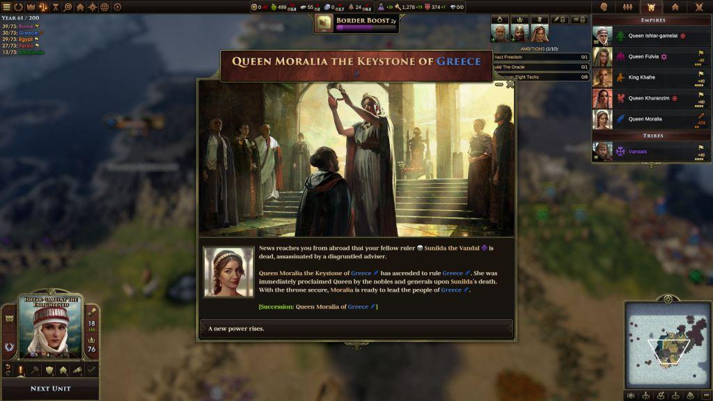 Old World Succession