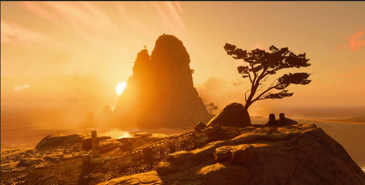 این جزیره اگر از بازی اصلی زیباتر نباشد، چیزی نیز از آن کم ندارد.