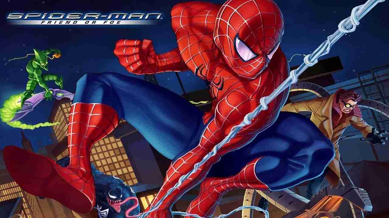 10 بازی برتر Spider-Man