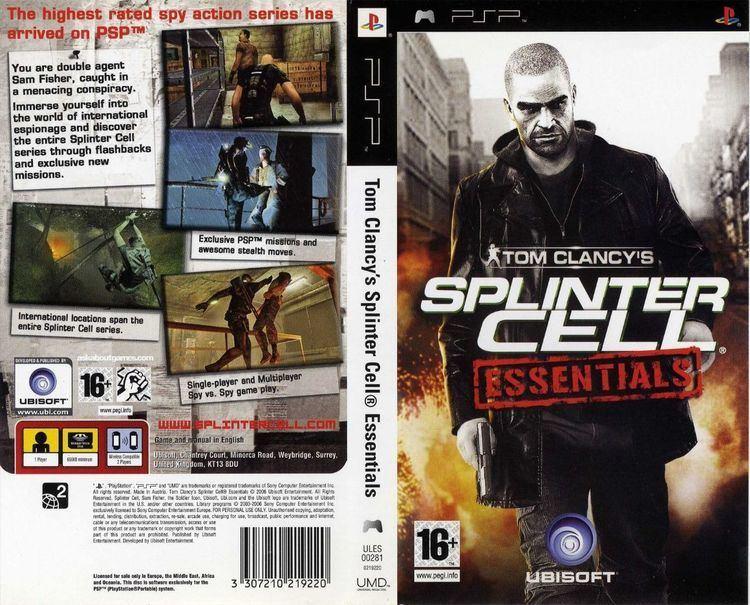 تاریخچه مجموعه Splinter Cell